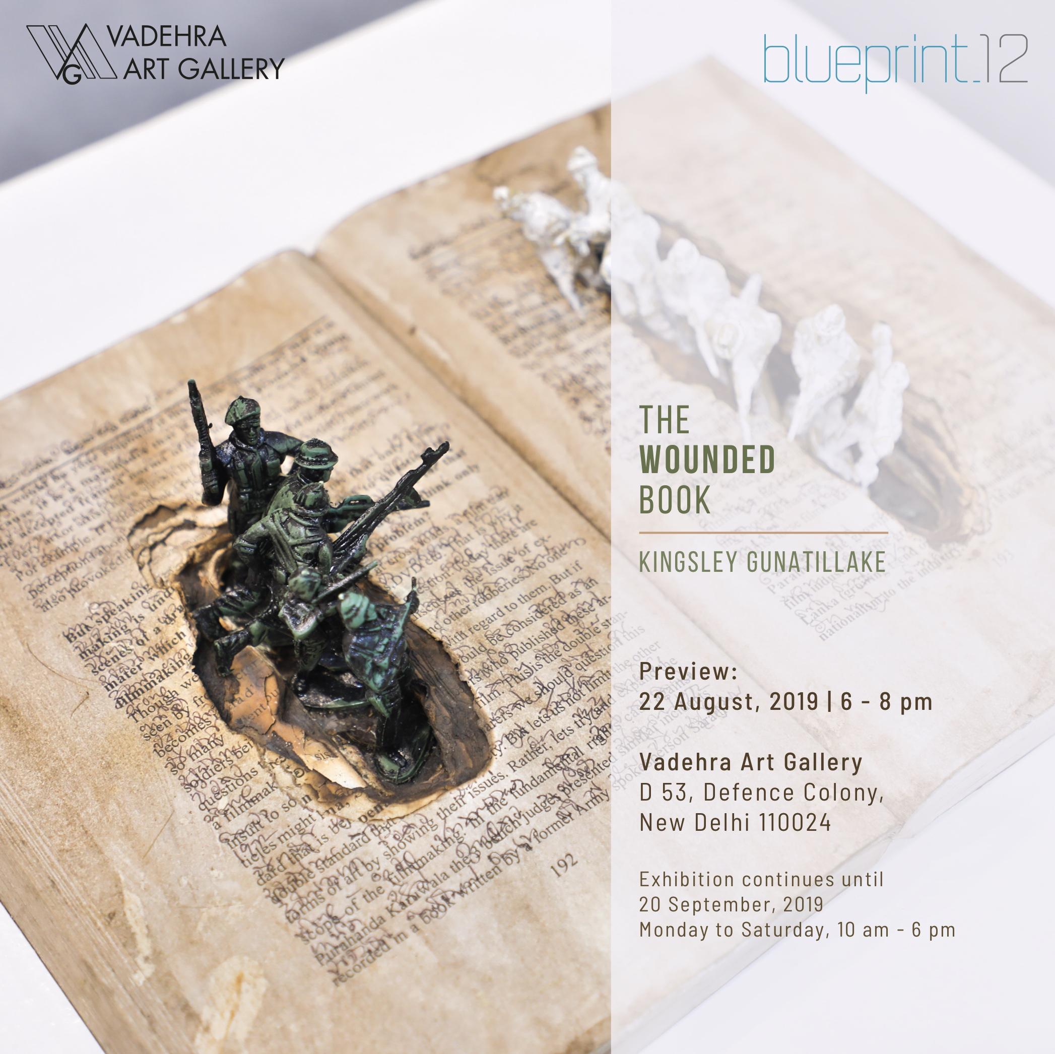 Kingsley Gunatillake, Solo Exhibition , Vadehra Art Gallery