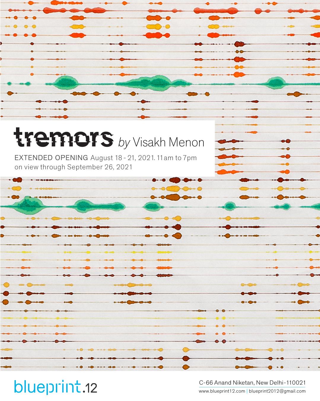 Visakh Menon, multi disciplinary artist, tape glitch, NY